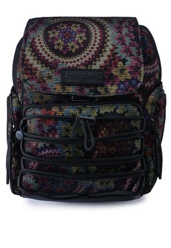 Desigual multi Mesh Flowers Backpack 2FA72ACA2129D5GS_1
