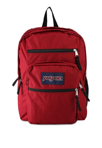 Jansport red Big Student Backpack 0C85EAC178FB57GS_1