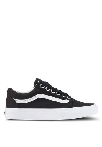 VANS black Old Skool Oversized Lace Sneakers VA142SH0SWOCMY_1