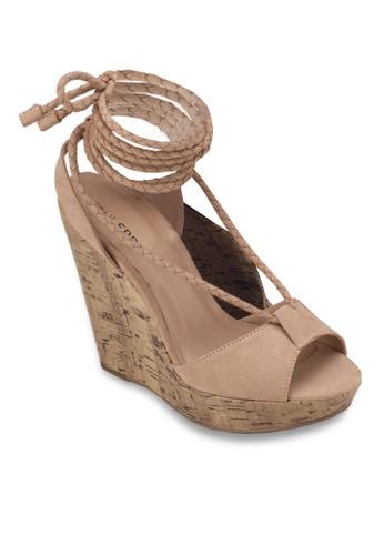 Treawen 羅馬楔形涼鞋, 女鞋, 楔zalora 內衣形涼鞋