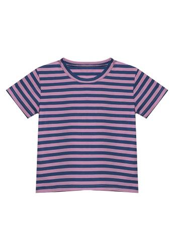 RAISING LITTLE purple Drew Stripes Shirt 334BEKA2F0967CGS_1