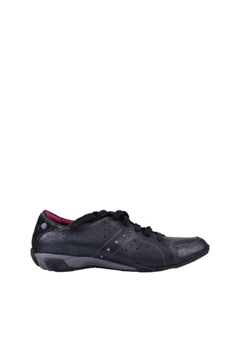 Hush Puppies black Hush Puppies Lax Coil In  Black Metallic CDCC0SH5999FCEGS_1