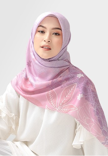Authentism.id pink Exclusive Scarf Collection - Amina Series - Eila BCCFEAA71F7E06GS_1