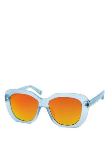 HEX EYEWEAR blue Designer - COCO C. - Sunglasses - Italy Design HE671AC2V1L1HK_1