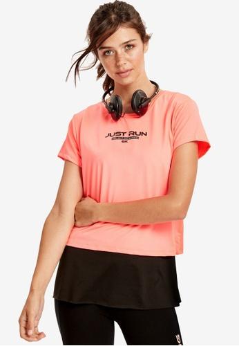 LC Waikiki orange Letter Printed Sports T-Shirt 5F9B1AA2335BF0GS_1