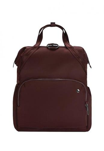 Pacsafe purple Citysafe Cx Backpack Merlot F9E13ACFE076F7GS_1