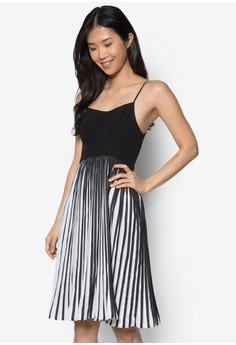 Collection Pleated Cami Midi Dress