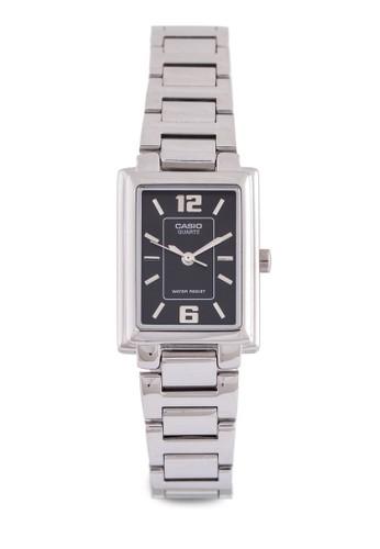 Casio LTP-1238D-1ADF 不銹鋼錶, 錶類, 不銹鋼zalora 順豐錶帶