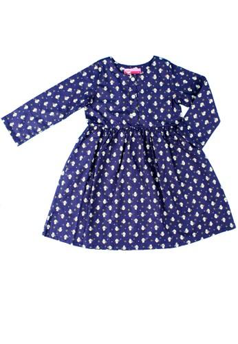 Pingu navy Pingu - Dress Anak Perempuan A01DAKA540747AGS_1