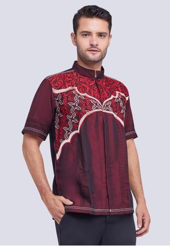 Woffi red Zayed Koko Shirt B07C3AA716BB18GS_1