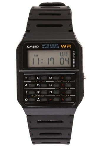 Casio black Casio Jam Tangan - Black - Resin CA-53W-1Z  D233EAC7F15092GS_1