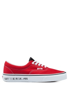 05e8bcde55 VANS white and red Era Get The Real  95 Sneakers EC64CSH6AE74E3GS 1