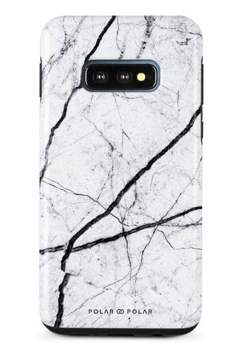 Polar Polar white Classic White Samsung Galaxy S10E Dual-Layer Protective Phone Case (Glossy) 27A09AC1837A5AGS_1
