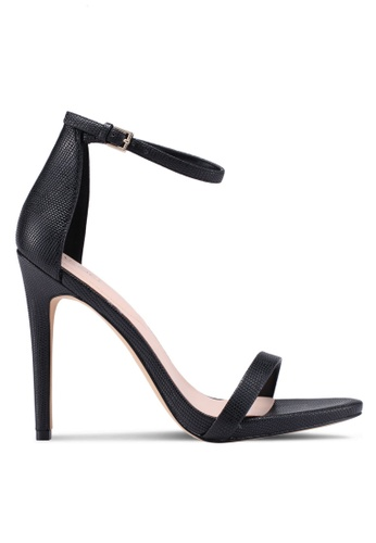 ALDO black Caraa Heeled Sandals D886ASH1303B37GS_1