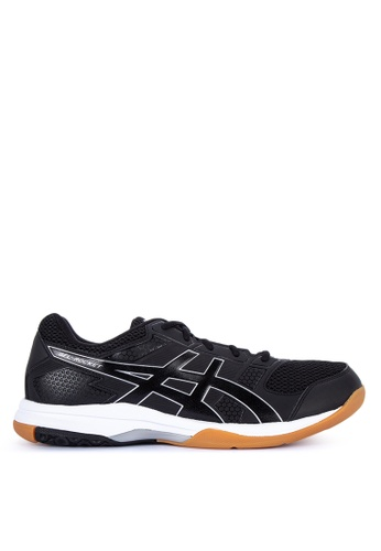 Asics black Gel-Rocket 8 Training Shoes AF5FASHF4D631BGS_1