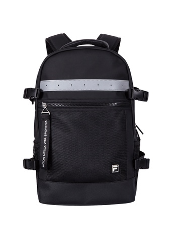 FILA black Training Functional Backpack 386A6AC4355770GS_1