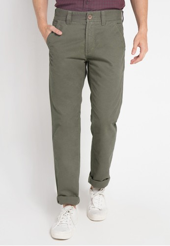 Lois Jeans green Long Pant Twill LO391AA0VPC0ID_1