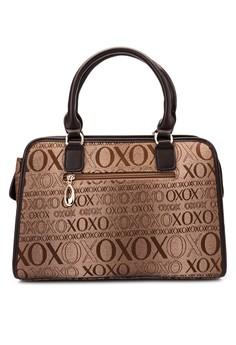 Jacquard Satchel Bag