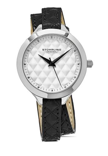 Deauville 658 纏繞式菱格esprit童裝門市紋圓錶, 錶類, 時尚型