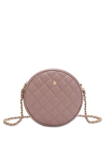 Swiss Polo pink Casual Crossbody Bag D761AAC55174D6GS_1