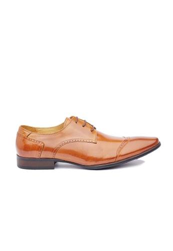 Kings Collection 褐色 扎諾蒂皮鞋 633FCSH5234EA7GS_1