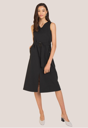 L'zzie black LZZIE AVI DRESS - BLACK DBB42AA8C8966FGS_1