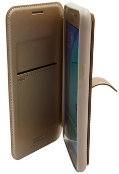 Mobile Leather Cover with Stand For Samsung Galaxy J5