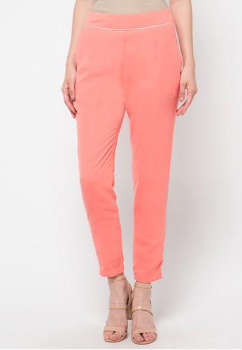 Le'Rosetz orange 2 Pocket Slim Pant'S LE828AA47ZWMID_1
