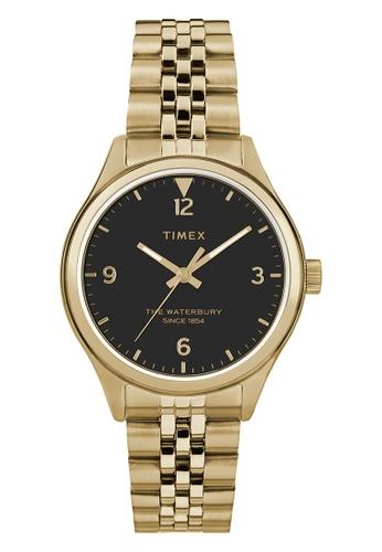 TIMEX gold Timex Women's Watch TW2R69300 Style Originals Waterbury  D6E60ACCBF58F7GS_1