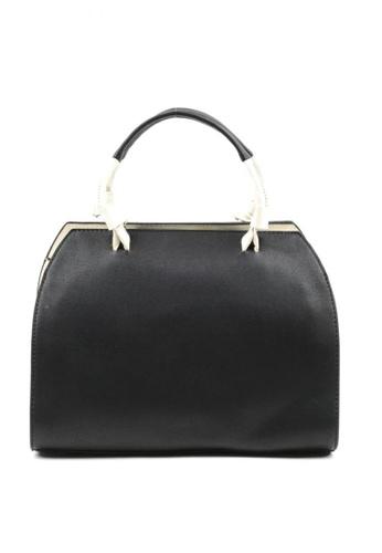 House of Bai black European Style Alona Top Handle Bag A HO716AC0JZA1PH_1