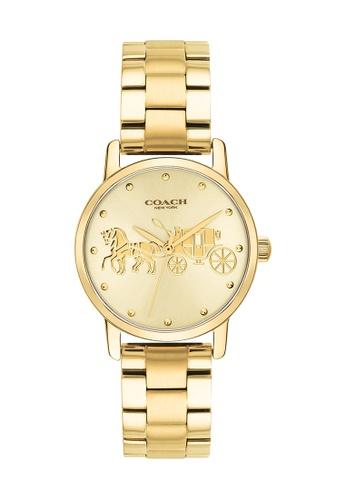 Coach gold Coach Grand Gold Women's Watch (14502976) 3B9E7ACCAB9BF0GS_1
