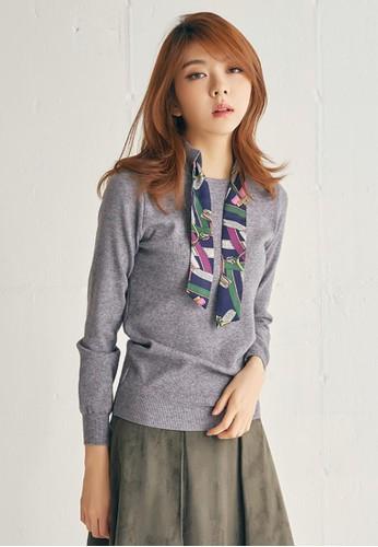 絲巾亮點針織上衣, 服飾, 毛衣esprit台北門市& 針織外套