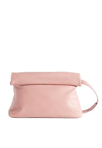 LINGWU red and pink LINGWU Toast Pink Crossbody Bag 3792BAC88456E3GS_1