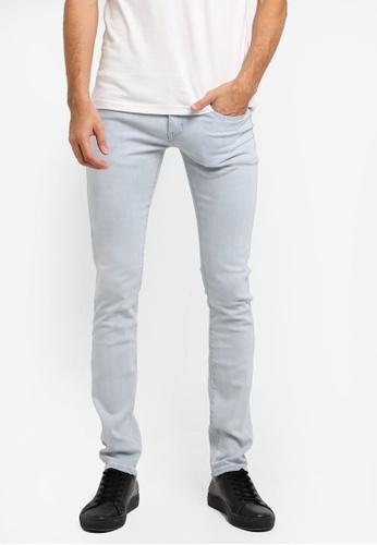 Electro Denim Lab 藍色 Dub Tight Fit Jeans 9498DAA520A0D0GS_1