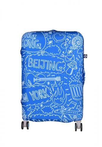 BG Berlin blue 006 Luggage Cover Medium 28605AC509098FGS_1