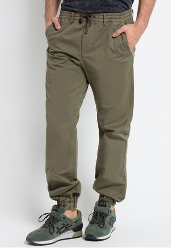 3SECOND green Men Long Pants 0611 3S395AA0VN5ZID_1