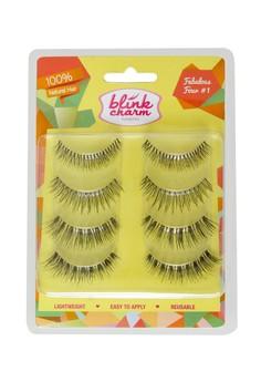 Eyelashes Fabulous Four #3 - 4 Pair