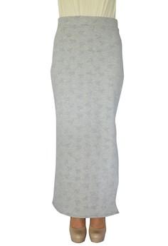 Printed Long Pencil Skirt