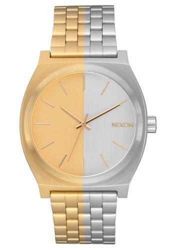 Nixon gold Time Teller 37mm - Gold/Split (A0453237) E88A0ACCD40984GS_1