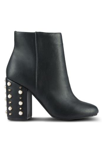 Dorothy Perkins black Black Apurla Heeled Boots DO816SH0RSPCMY_1