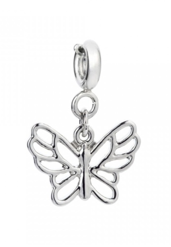 My Flash Trash silver Butterfly charm AD513ACF44BF9AGS_1