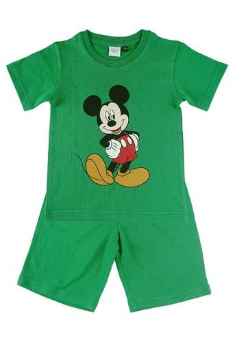 KIDS ICON green KIDS ICON - Setelan Anak Laki-Laki Disney MICKEY MOUSE [3 - 36 Bulan] - MB7K0900200 3932DKA9A5FD46GS_1