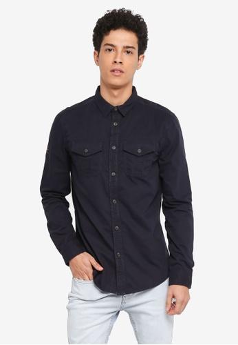 Superdry 藍色 Rookie Shirt EDA71AAFE7E980GS_1
