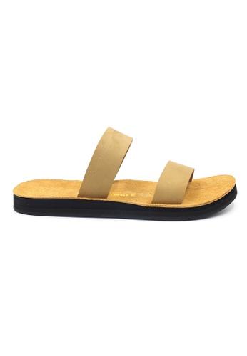 SoleSimple beige Warsaw - Beige Leather Sandals & Flip Flops C3DB0SHB775932GS_1