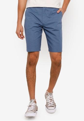 Springfield blue Linen Bermuda Shorts DE0BFAA62A11C4GS_1