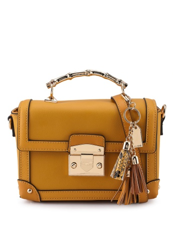 ALDO yellow Glaledith Top-Handle Bag 49D1FACD897C58GS_1