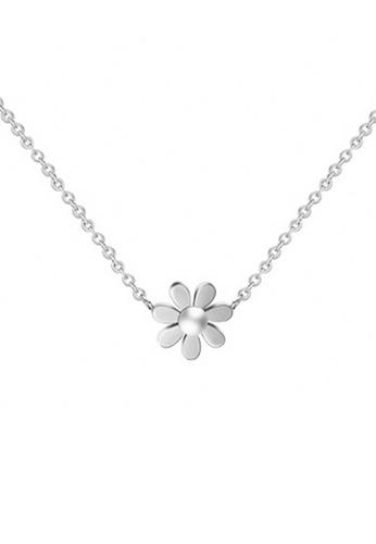 CELOVIS silver CELOVIS - Daisy Floral Necklace in Silver E10E9ACC6FE24DGS_1