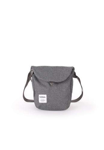 Hellolulu grey Hellolulu Desi Sling Bag (Pebble Gray) 87F00AC9464BAEGS_1