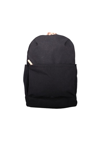 Samuel Ashley black Samuel Ashley Austin City Backpack - Charcoal 3B1E4AC888396AGS_1