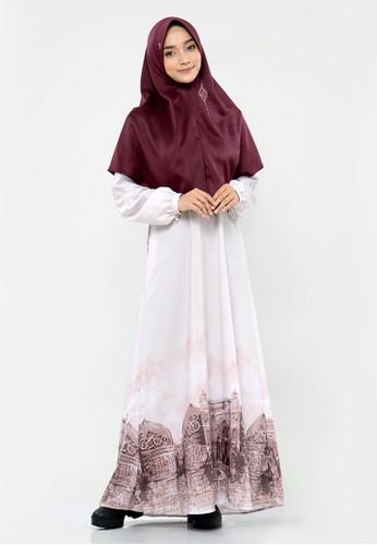RABBANI brown Dress Muslim Lazetha Maryam 6AB9BAAD83B2D5GS_1